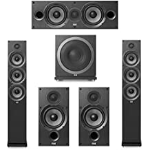 Elac Debut 2.0-5.1 System with 2 F6.2 Floorstanding Speakers, 1 C6.2 Center Speaker, 2 B6.2 Bookshelf Speakers, 1 Elac Sub3010 Subwoofer