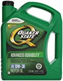 Quaker State 550024058 Advanced Durability 10W-30 Motor Oil (SN/GF-5) 5qt jug