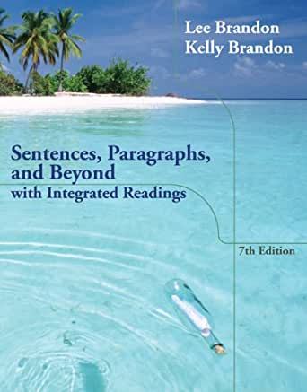 Sentences paragraphs and beyond 7th edition