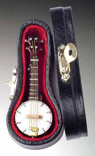 banjo-guitar-pin-w-instrument-case-musical-gift-new