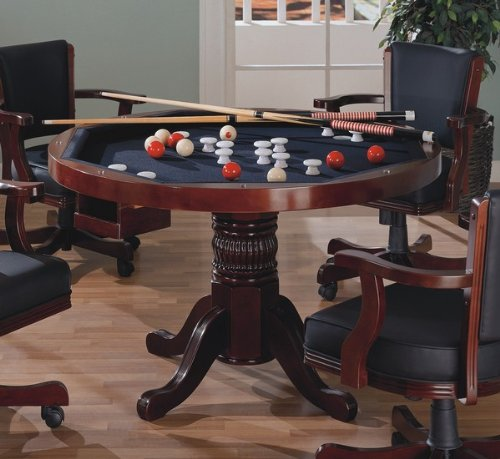 Coaster Mitchell 3-in1- Game Table in Cherry by Coaster Home Furnishings