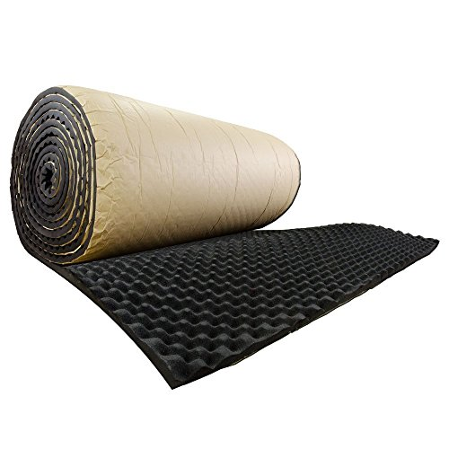 SOOMJ Studio Sound Acoustic Absorption Car Heatproof Foam Deadener 15.7''x39.4'' 4.3sqft by SOOMJ (Image #2)