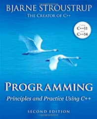 An Introduction to Programming by the Inventor of C++     Preparation for Programming in the Real World  The book assumes that you aim eventually to write non-trivial programs, whether for work in software development or in some other techni...