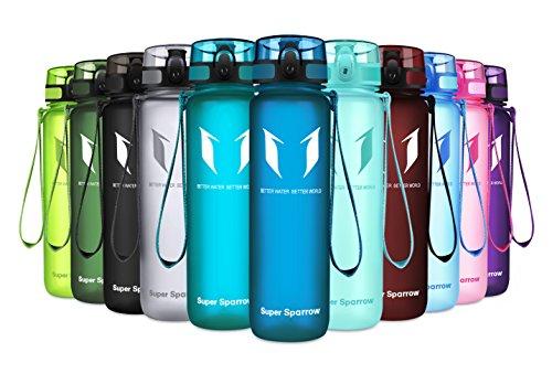 Super Sparrow Sports Water Bottle - Eco Friendly & BPA-Free
