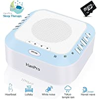 White Noise Machine With 5 Natural Sound Options