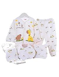 Monvecle Unisex-Baby Long Sleeve Underwears Top Pants Set