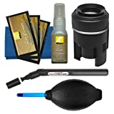 Nikon Lens and Digital SLR Camera Cleaning Kit with Cloth + Lenspen SensorKlear Loupe Cleaning Kit for D4S, D810, D800, D610, D7100, D7000, D5300, D5200, D3300, D3200