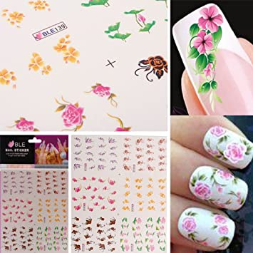 Nail Polish: Amazon Nail Polish Trends & Stickers 2018 @[summer Nail  Designs For