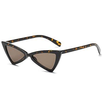 CCTYJ Gafas De Sol Gafas De Sol De Mujer Triángulo Negro ...
