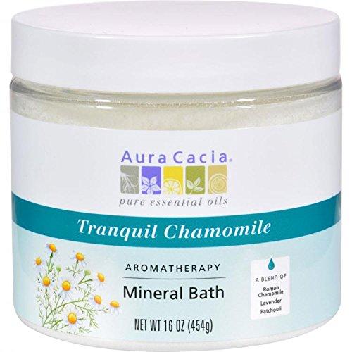 Aura Cacia Tranquility Mineral Bath 453 g by Aura (Aura Cacia Tranquility Mineral Bath)