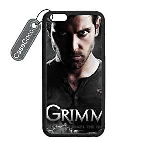 CASECOCO(TM) iPhone 6 Plus Case, Favorite US TV Grimm Case for iPhone 6 Plus (5.5-inch) - Protective Hard Back / Black Rubber Sides