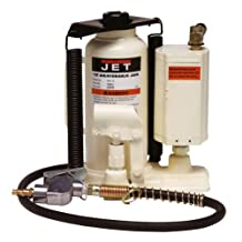JET AHJ-12 12-Ton Air/Hydraulic Bottle Jack with Case