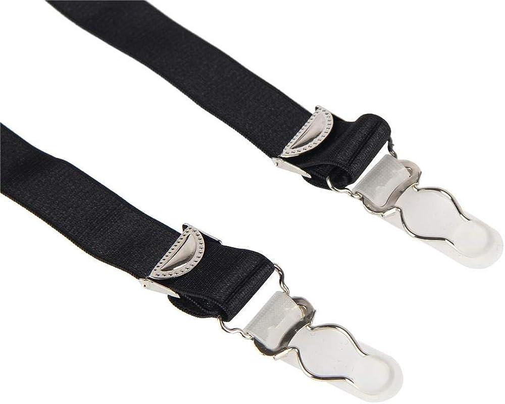 lau-fashion Strumpfhalter Unterw/äsche Strapsg/ürtel Dessous H/üfthalter Strapse String Tanga Gogo S//XL Farbe schwarz