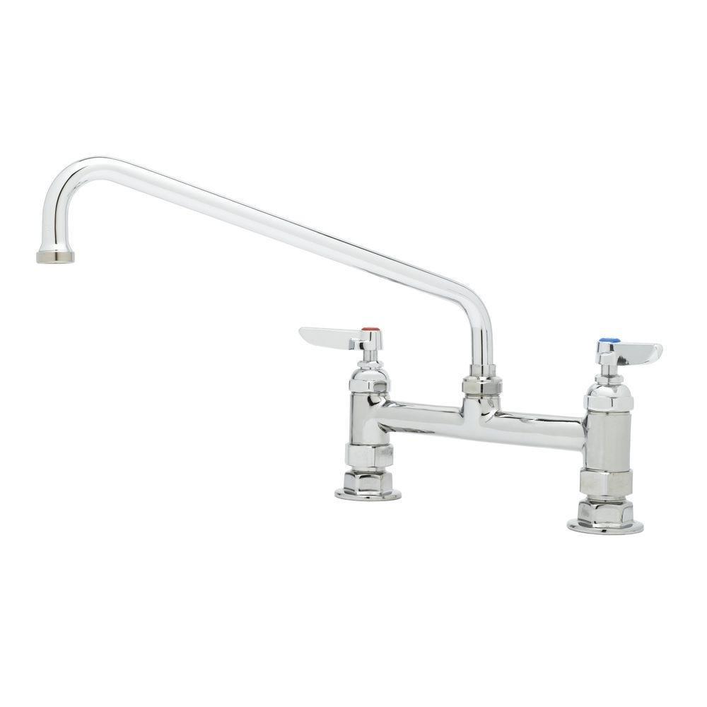 TS Brass B-0221 Deck Mount Fixing Faucet, Chrome
