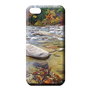 iphone 5c case Specially Hd phone carrying case cover wonderful mountain stream in autumn
