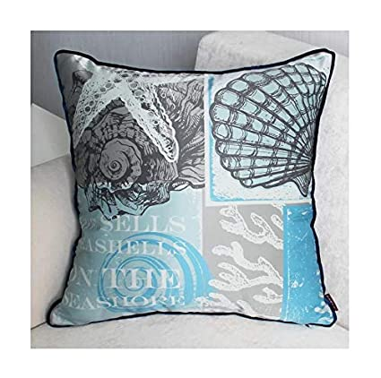 Brandream Nautical Throw Pillows For Bedroom Living Room Couch Decorative  Pillow Cover 18 X 18 Inch