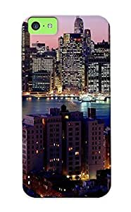 Case Provided For Iphone 5c Protector Case New York Citywidescreen Phone Cover With Appearance