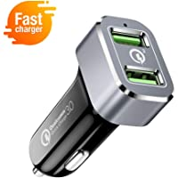 Capshi 36W Dual USB Car Charger