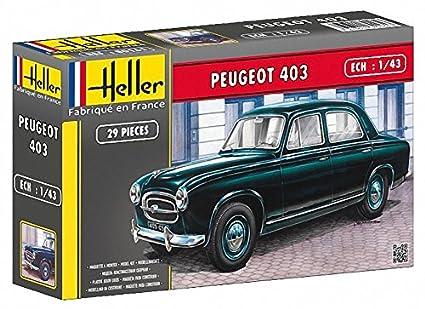 Amazon.com: Heller 80161 1:43-Peugeot 403: Toys & Games