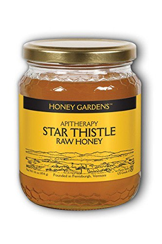 Raw Honey Star Thistle Honey Gardens 1 lb Liquid