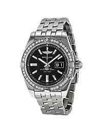 Breitling Men's BTA49350LA-BA07SS Galactic 41 Analog Display Swiss Automatic Silver Watch