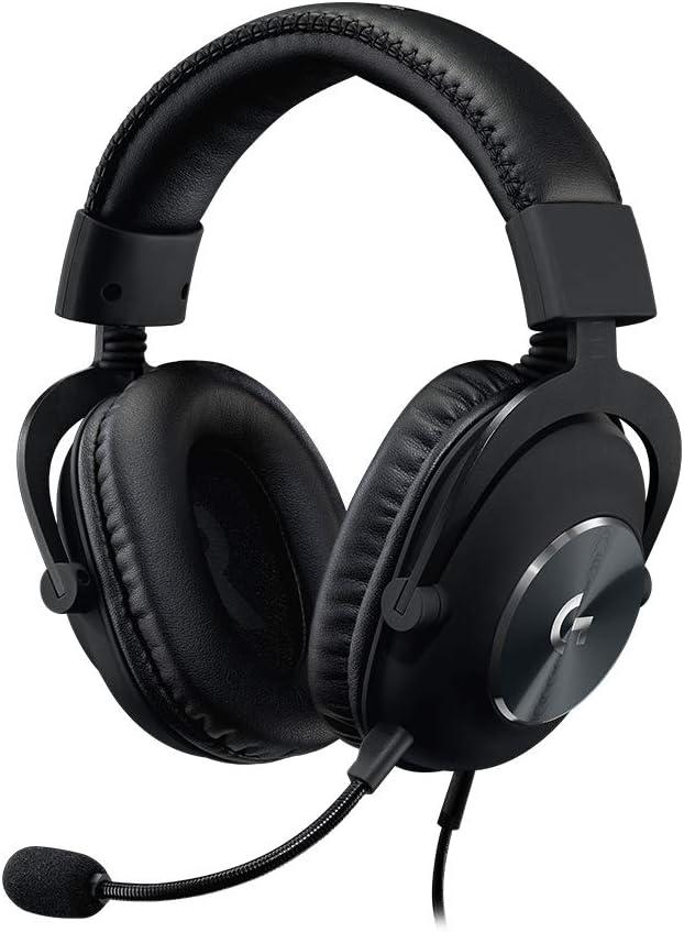 Auriculares para juegos Logitech G Pro X, color Negro