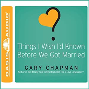 Things I Wish I'd Known Before We Got Married Audiobook
