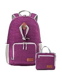 Homfu 15L 30L Foldable Backpack For Travel Packable Daypack For Hiking Camping Sports Lightweight Shoulder Bag