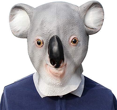 RENS Máscara De Koala De Halloween, Máscara De Cara Completa De ...