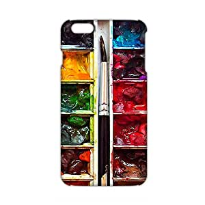Ultra Thin 3D Case Cover Artistic Water Color Phone Case for iPhone6 plus