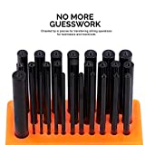 Neiko 02621A Transfer Punch Set, 28 Piece, Heat