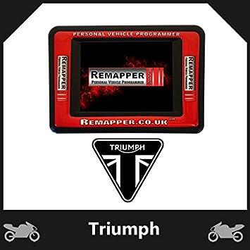 Triumph Bonneville Customized OBD ECU Remapping, Engine Remap & Chip
