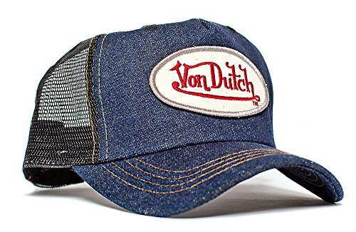 von-dutch-blue-jean-denim-unisex-adult-trucker-hat-one-size-black-blue-denim