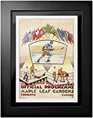 Toronto Maple Leafs Program Cover - Maple Leaf Gardens Boxing Face Off