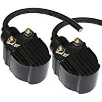 Caltric IGNITION COILS Fit MERCURY Outboard 25HP 25-HP 25...