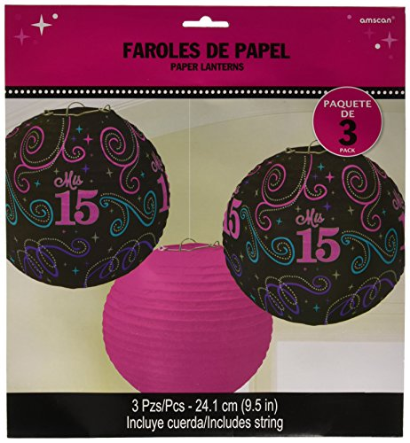 Printed Lanterns | Mis Quince Años Collection | Birthday]()