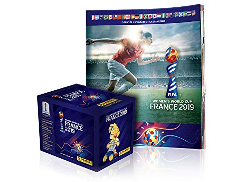 Panini Women's World Cup France 2019 Box of 50 Sticker Packs + 1 Album (US Version)