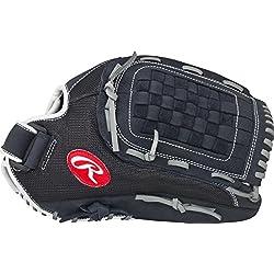 Rawlings Renegade Series Baseball Glove, Regular, Slow Pitch Pattern, Basket-Web, 12 Inch