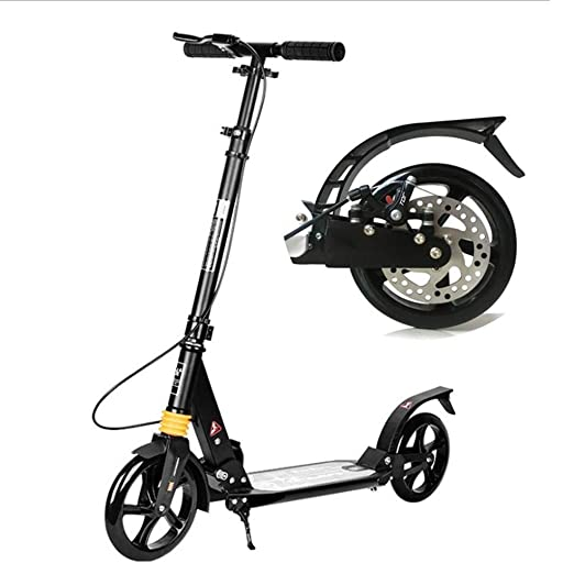 Patinete Adultos, Big Wheel Kick Scooter, Scooter Unisex For ...