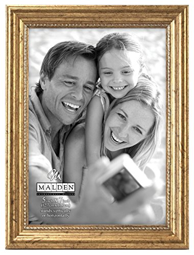 Malden International Designs Classic Wood Picture Frame, 5x7