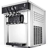 Happybuy 2200W Soft Ice Cream Machine Commercial 5.3 to 7.4...