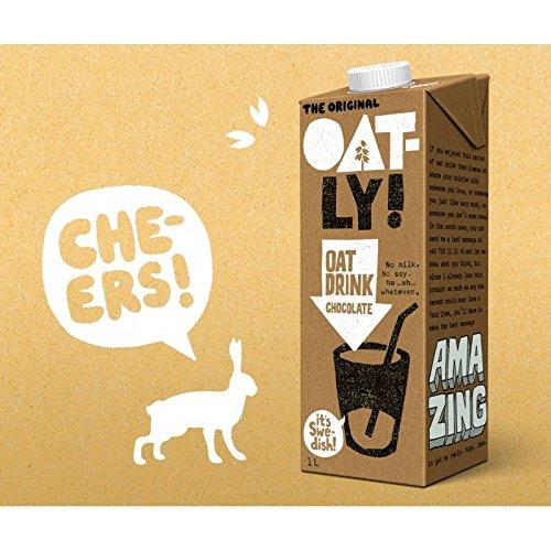 Oatly - Bebida de Avena y Chocolate - Pack de 6 (6 x 1 litro): Amazon.es: Alimentación y bebidas