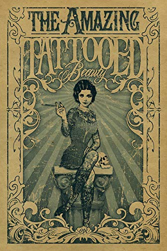 Pinturas Decorativas Vintage Circo Cartel Freak Mostrar El ...