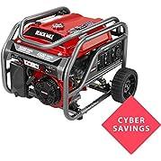 Black Max 3,600-Watt Portable Gas Generator - BM903600 (No Sales to California)