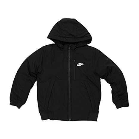 Nsw Nike L Garçon Padded Amazon Veste B Mid Core Noir Jkt rB451nZqr