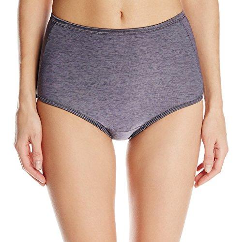 Vanity Fair Women's Underwear Illumination Brief Panty 13109, Steele Violet, X-Large/8