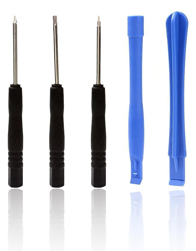 Juego de 8 herramientas de reparación de destornilladores para teléfono, portátil, mantenimiento: Amazon.es: Bricolaje y herramientas