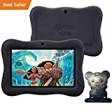 HOLIDAY SPECIAL! Contixo Kid Safe 7'' HD Tablet WiFi 8GB Bluetooth, Front & Rear Camera, Free Games, Kids-Place Parental Control W/ Kid-Proof Case (Black) - Best Gift For Christmas