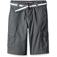 Southpole Boys' Belted Ripstop Basic Cargo Shorts