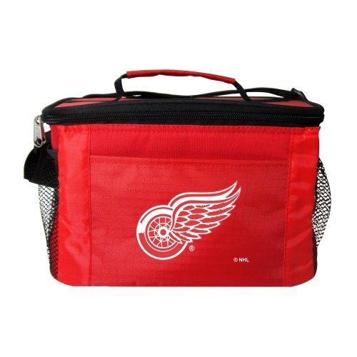NHL Red Wings - Tailgating 6-Pack Cooler | Detroit Red Wings Lunch Cooler